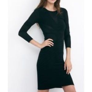 Velvet by Graham & Spencer Black 3/4 Sleeve Dress